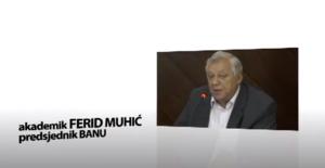 screenshot sa reklame gdje je najavljivan Ferid Muhić