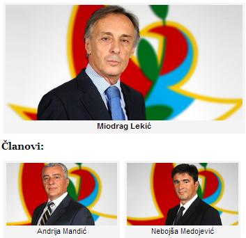 Lekic, Mandic, Medojevic