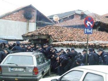 sukob ispred Altun Alem džamije