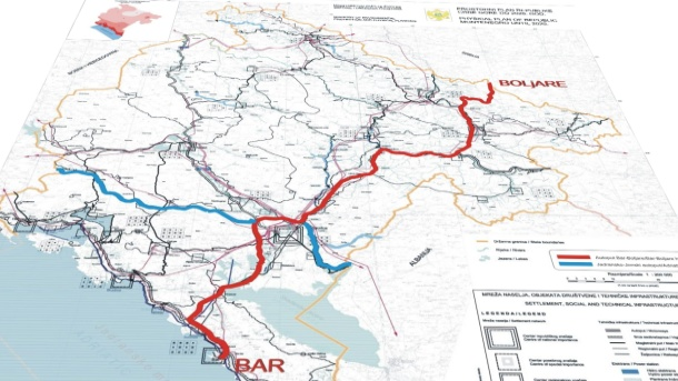 Potpisan ugovor o kreditu za izgradnju autoputa Bar – Boljare, najvećeg projekta u istoriji Crne Gore