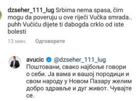 vucic-odgovorio-novopazarcu-koji-mu-je-uputio-sravicnu-poruku-na-instagramu