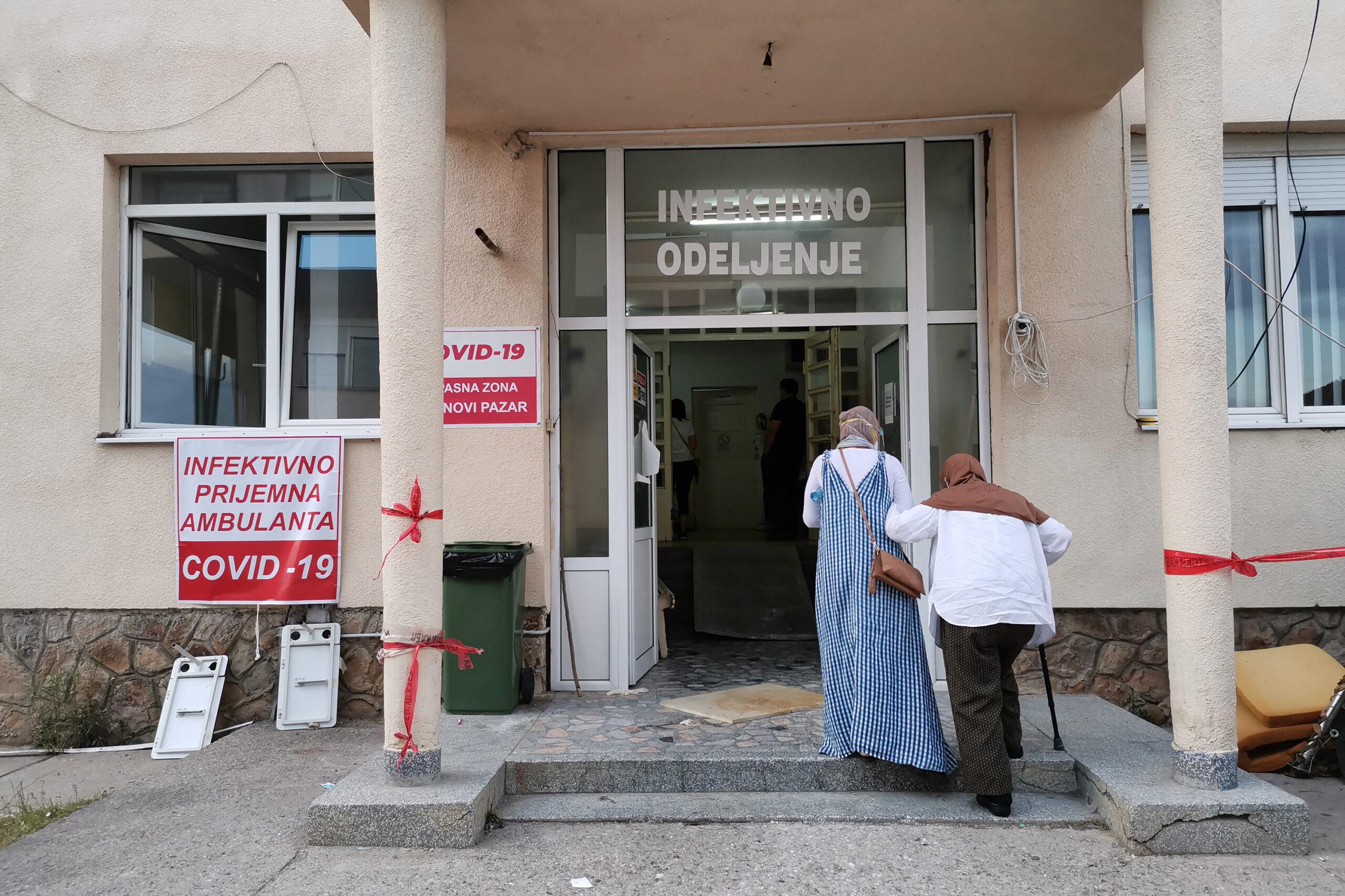 -u-opstoj-bolnici-novi-pazar-danas-bez-preminulih,-smanjen-broj-hospitalizovanih