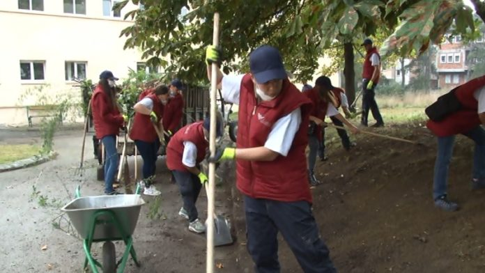volonteri-rasciscavali-krug-opste-bolnice