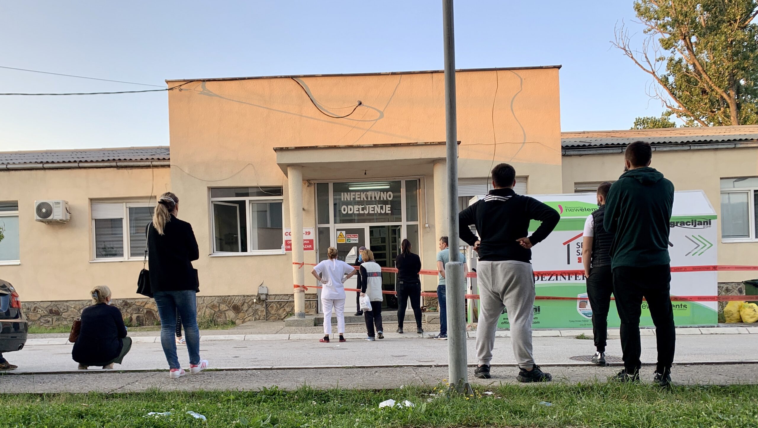 novi-pazar:-hospitalizovano-sedam-pacijenata