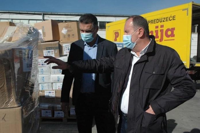 novi-pazar:-udruzenja-bosnjaka-iz-turske-donirala-zastitnu-opremu-i-dezinfekciono-sredstva