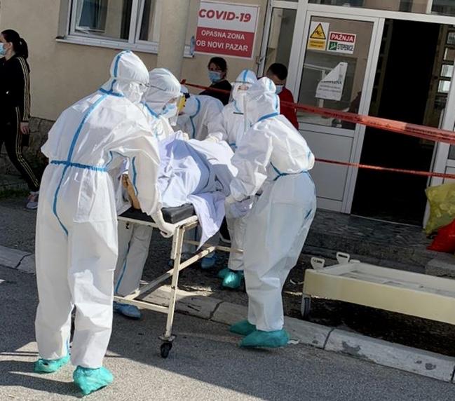 novi-pazar:-hospitalizovanih-113,-preminuo-jedan