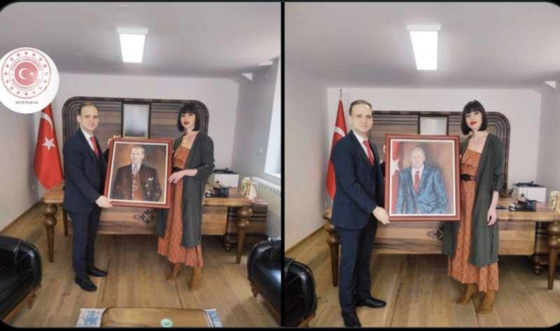 konzul-republike-turske-basar-basol,-uprilicio-prijem-za-akademsku-slikarku-pasu-gicic