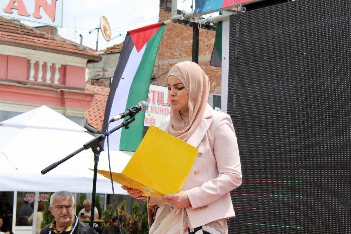 novi-pazar:-proglas-sa-skupa-podrske-palestinskom-narodu