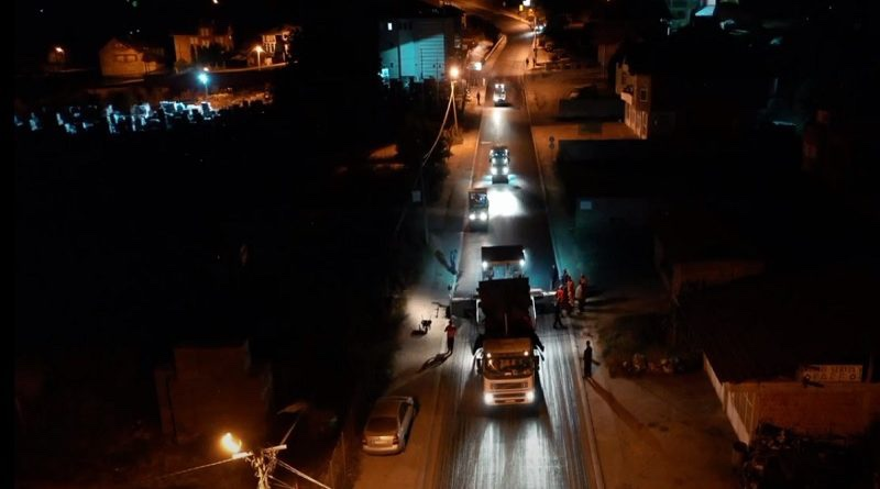 novi-pazar:-glavna-saobracajnica-u-selakovcu-presvucena-novim-asfaltom