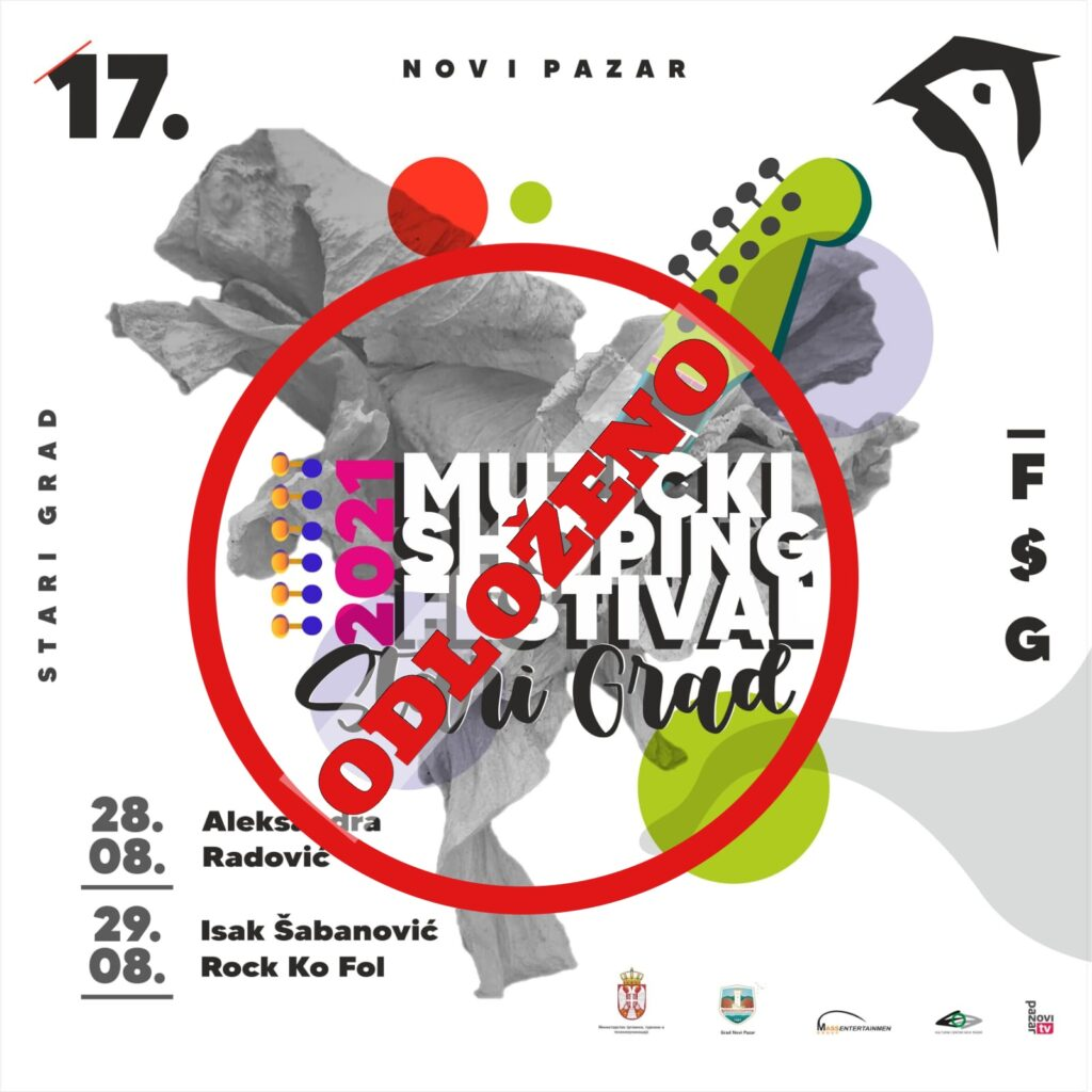 novopazarski-festival-stari-grad-odlozen-zbog-pogorsanja-epidemioloske-situacije